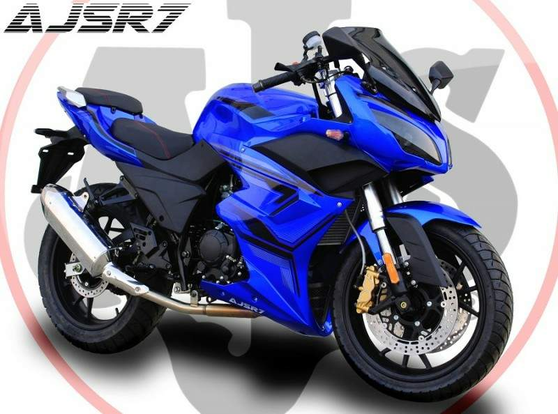AJS R7 technical specifications